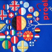 Branching Tree Designs of European Flags.