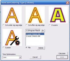 Auto Laser Lettering