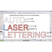 Embroidery Software: Auto Laser Lettering from BITO USA