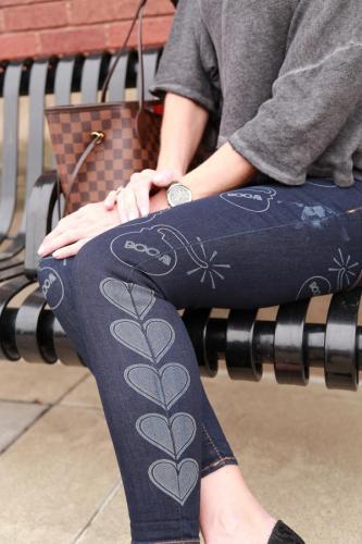 BITO Laser Etched Jeans Leg