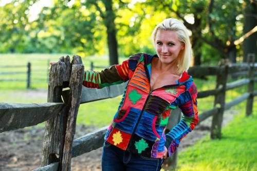 BITO Multicolor Fashion Jacket