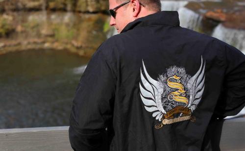 BITO Wings Jacketback Stitches