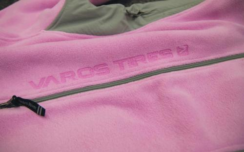 Charles River Etched Pink Poly Fleece